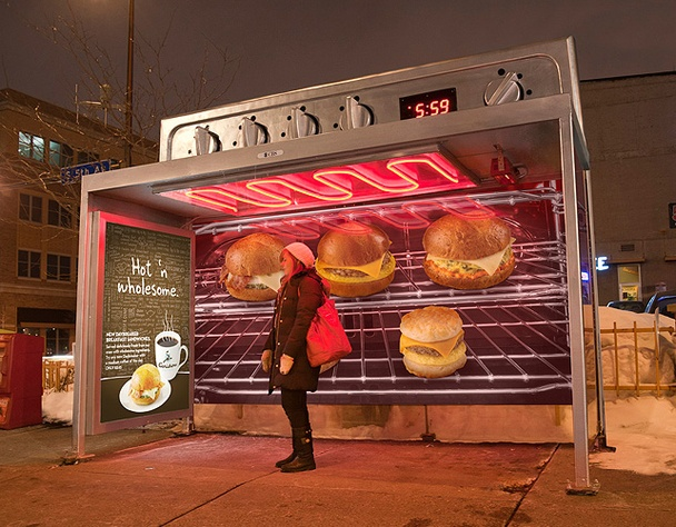 bus stop advertising- bus and train news