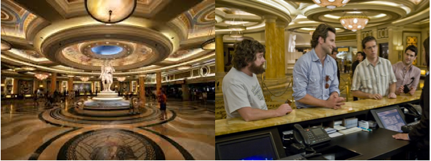 Casino used in the hangover