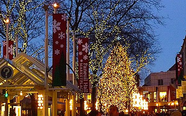 Faneuil Hall Tree Lighting