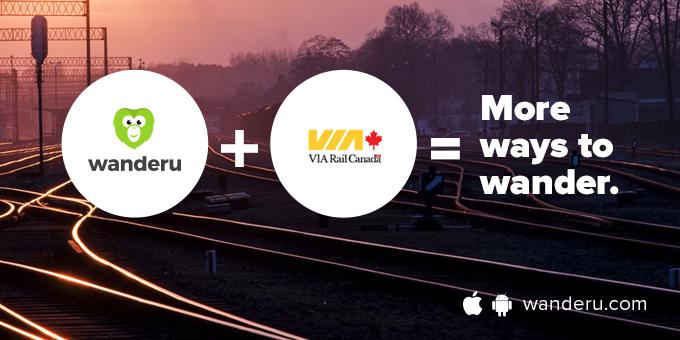 Wanderu partners with train provider VIA Rail in Canada