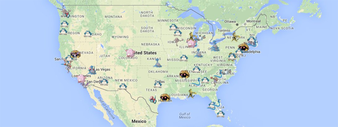 Best Cities to Catch the Rarest Pokémon in the U.S.