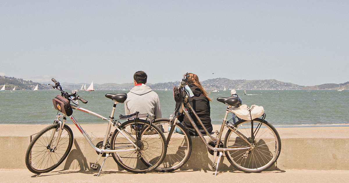 Ocean To Bay Bike Tour  Route