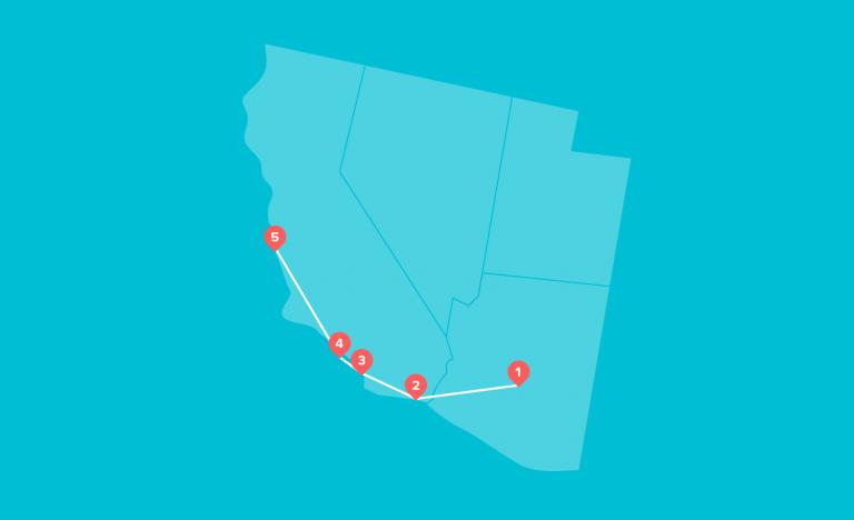 Baseball itinerary - Southwest