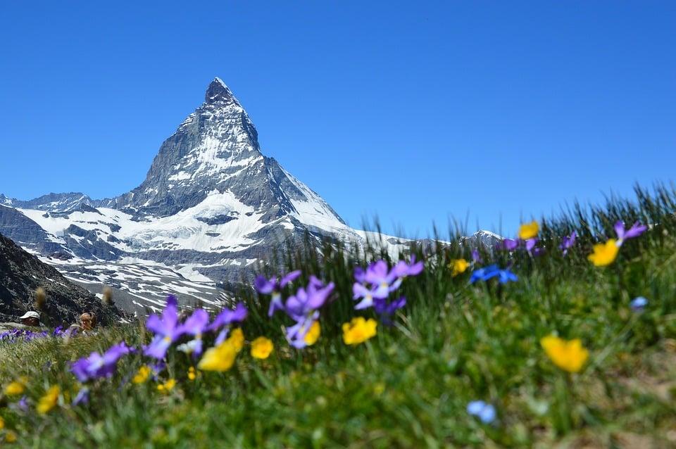 Travel after college to Matterhorn, Switzerland.