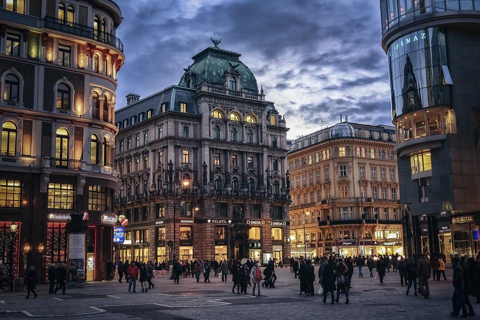 Travel after college to Vienna, Austria.