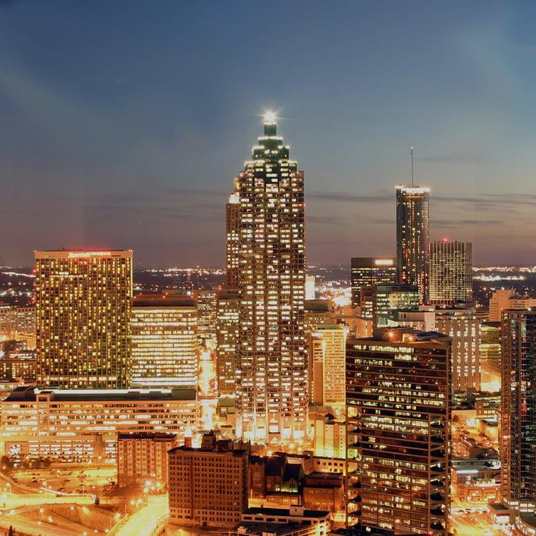 Cheap bus and train travel from Atlanta.