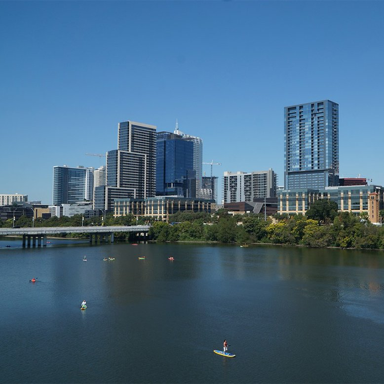 Cheap bus and train travel from Austin.