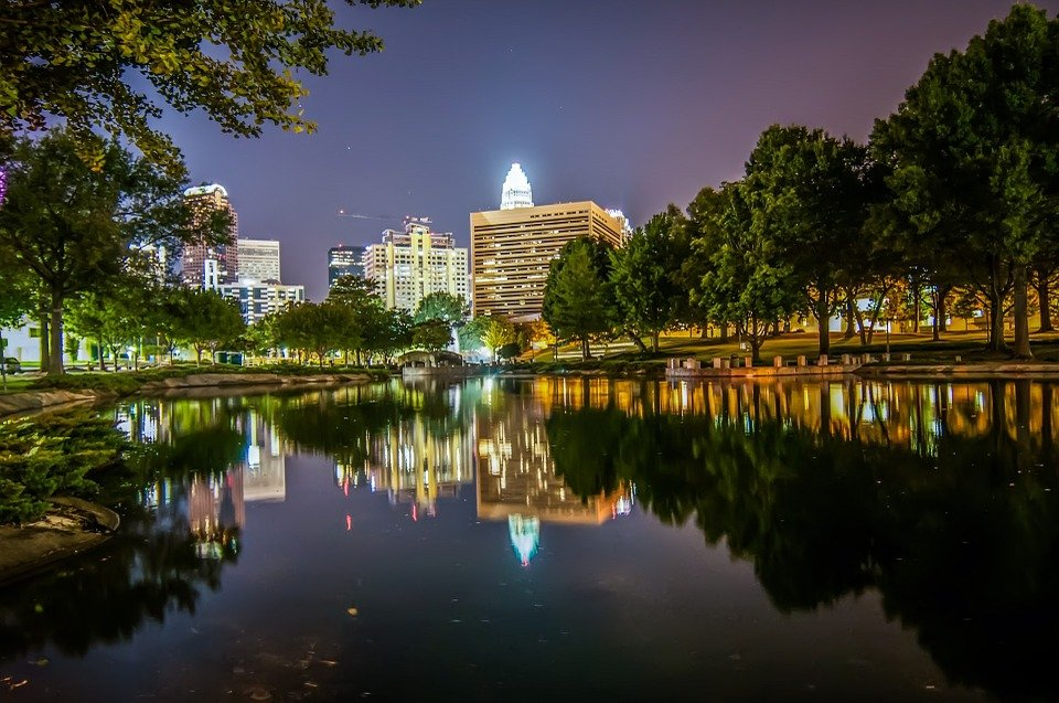 Cheap bus and train travel from Charlotte.