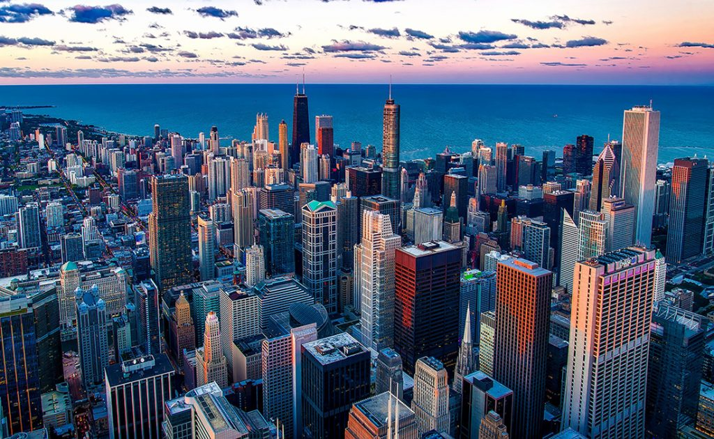 Cheap bus and train travel from Chicago.
