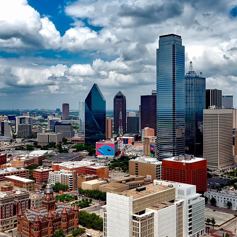 Cheap bus and train travel from Dallas.