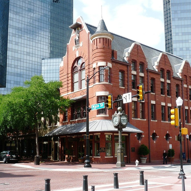 Cheap bus and train travel from Fort Worth.