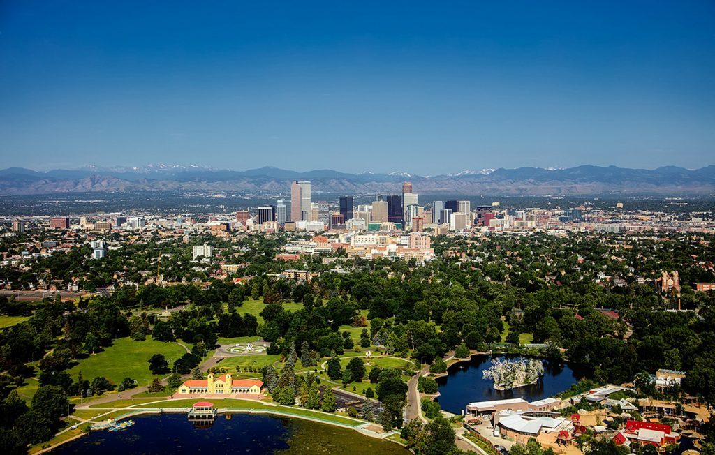 Cheap bus and train travel from Denver.
