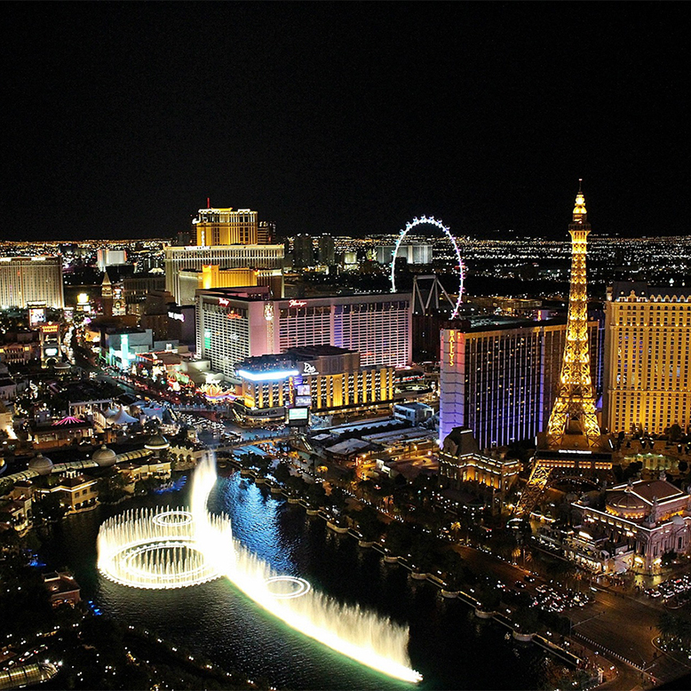 Cheap bus and train travel from Las Vegas.