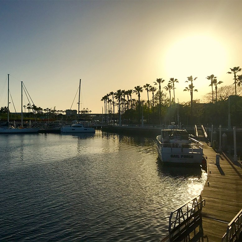 Cheap bus and train travel from Long Beach.