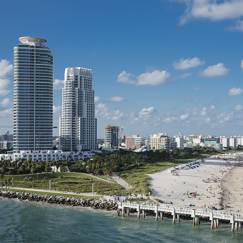 Cheap bus and train travel from Miami.