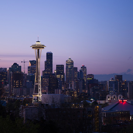 Cheap bus and train travel from Seattle.