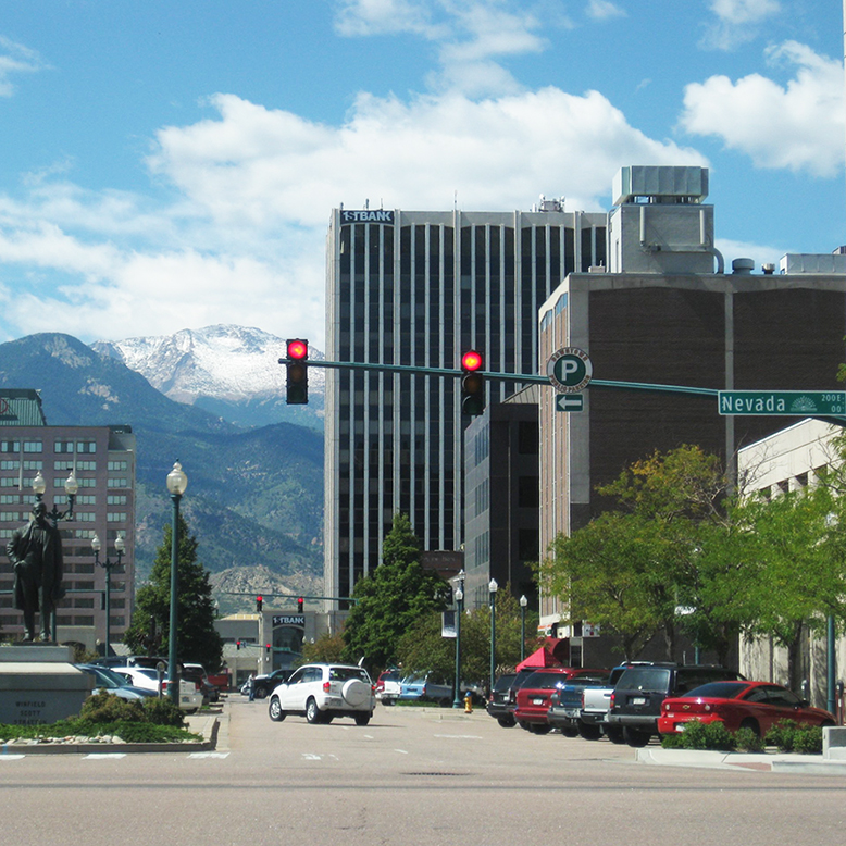 Cheap bus and train travel from Colorado Springs.