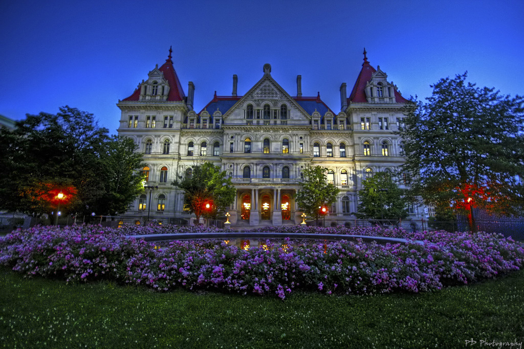 Tours Of The Capitol Building In Albany Ny