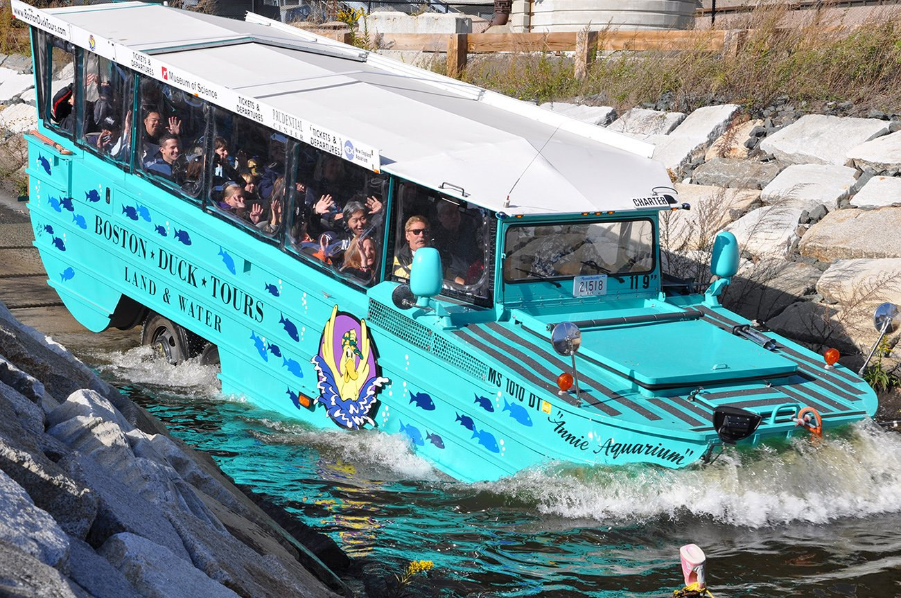 The Duck Tour Boston
