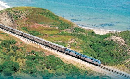 Train - most sustainable modes of transportation