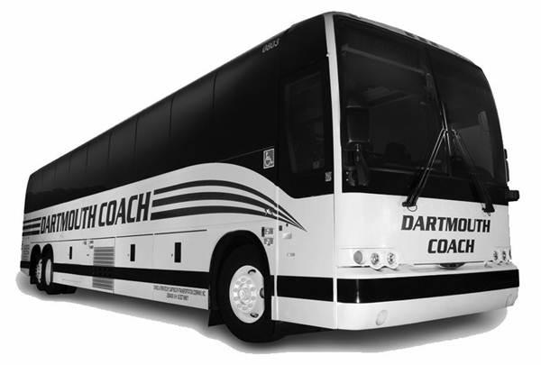 dartmouth coach bus