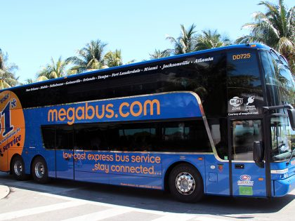 Your Guide to All Megabus Routes & Stops Across Florida (Including $1 Bus Tickets)