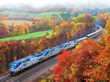 The 5 Best Train Routes for a Last-Minute Fall Foliage Adventure