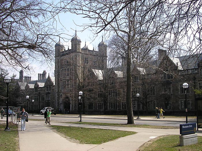 Photo of the campus of the University of Michigan.