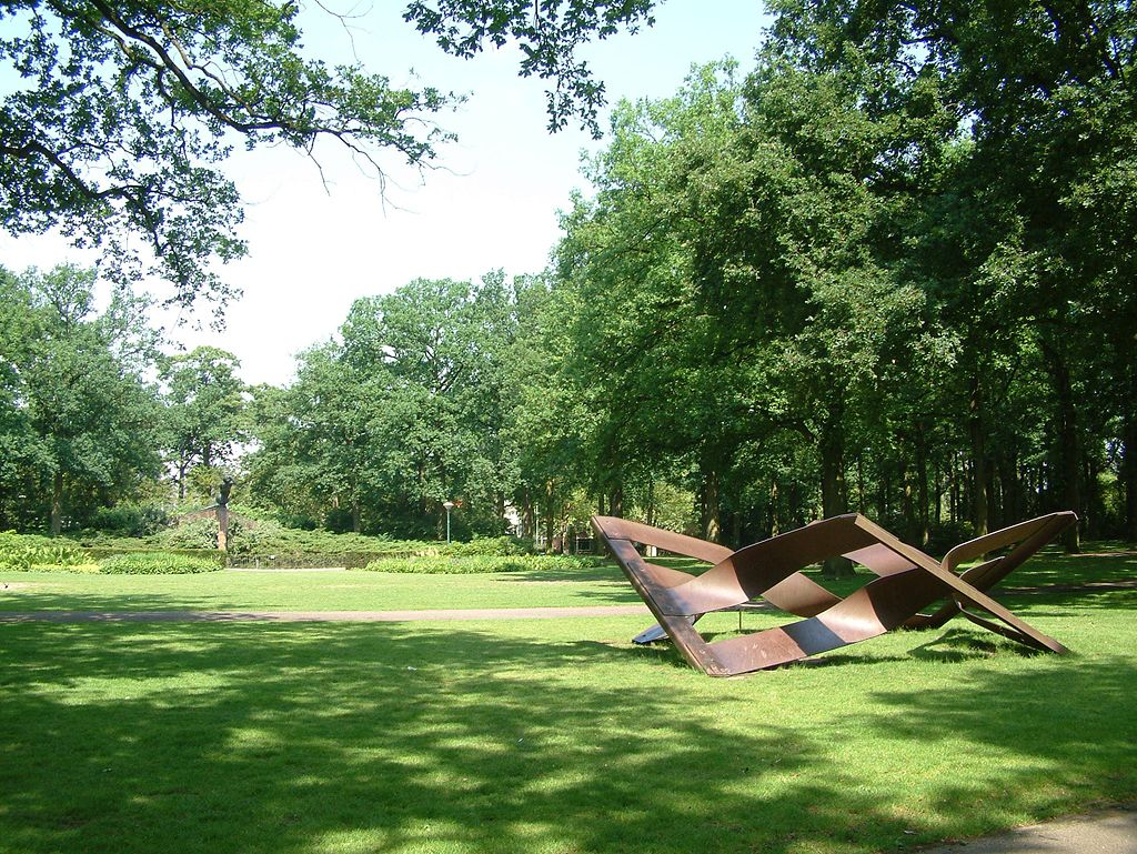 Photo of the Stadswandelpark in Eindhoven, Netherlands on a sunny day.