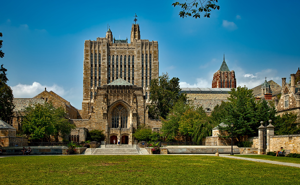 Photo of Yale University in New Haven, Connecticut.
