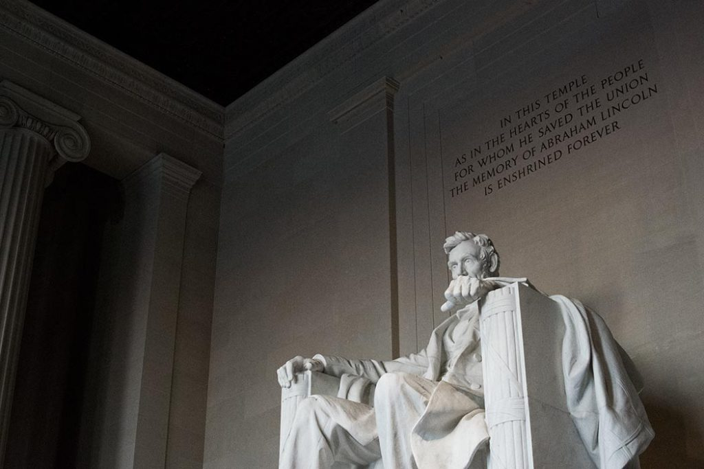 Photo of the Lincoln Memorial in Washington, D.C.
