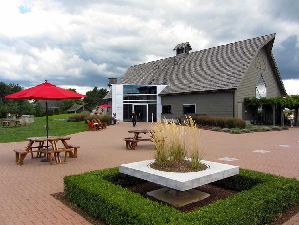 Photo of Inniskillin Winery in Niagara Falls, Ontario.