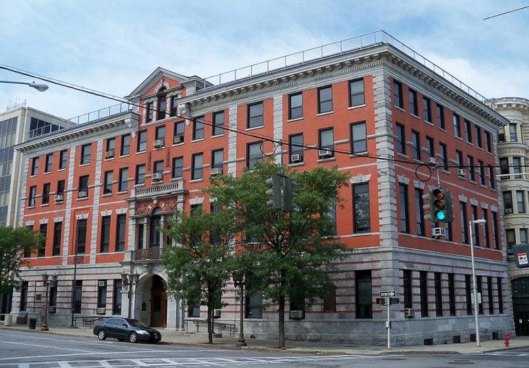 Photo of the Dutchess County Supreme Court in Poughkeepsie, NY.