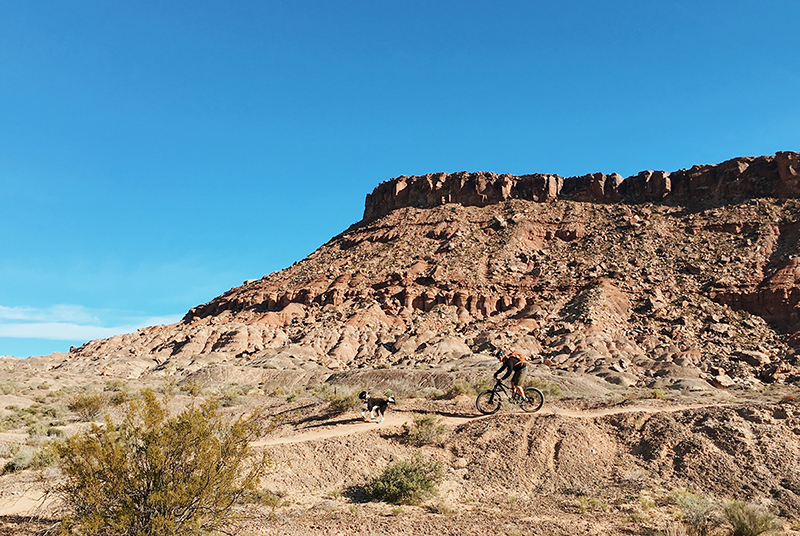 Beautiful rock structures around St. George, Utah.