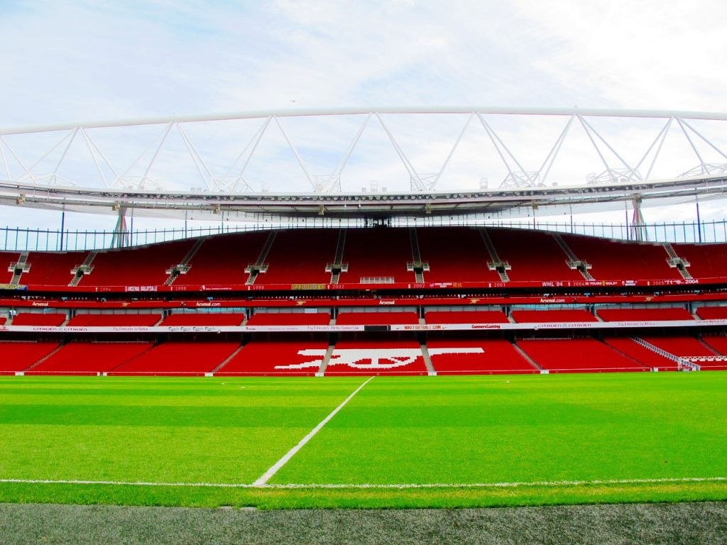 Emirates Stadium, home of Arsenal F.C.