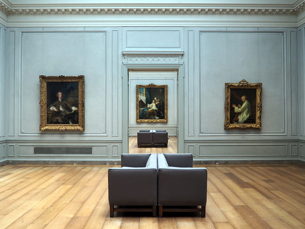 Photo inside of the United States National Gallery.