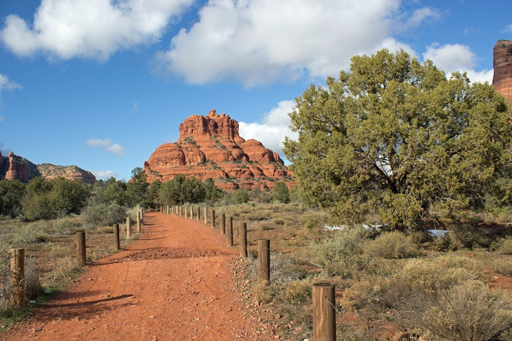 Photo of a dirt path in Sedona, Arizona.