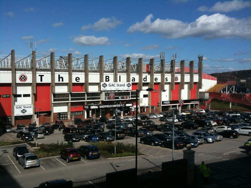 Bramall Lane, home of Sheffield United.