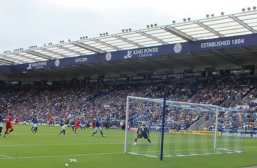 Sun Power Stadium, home of Leicester FC.