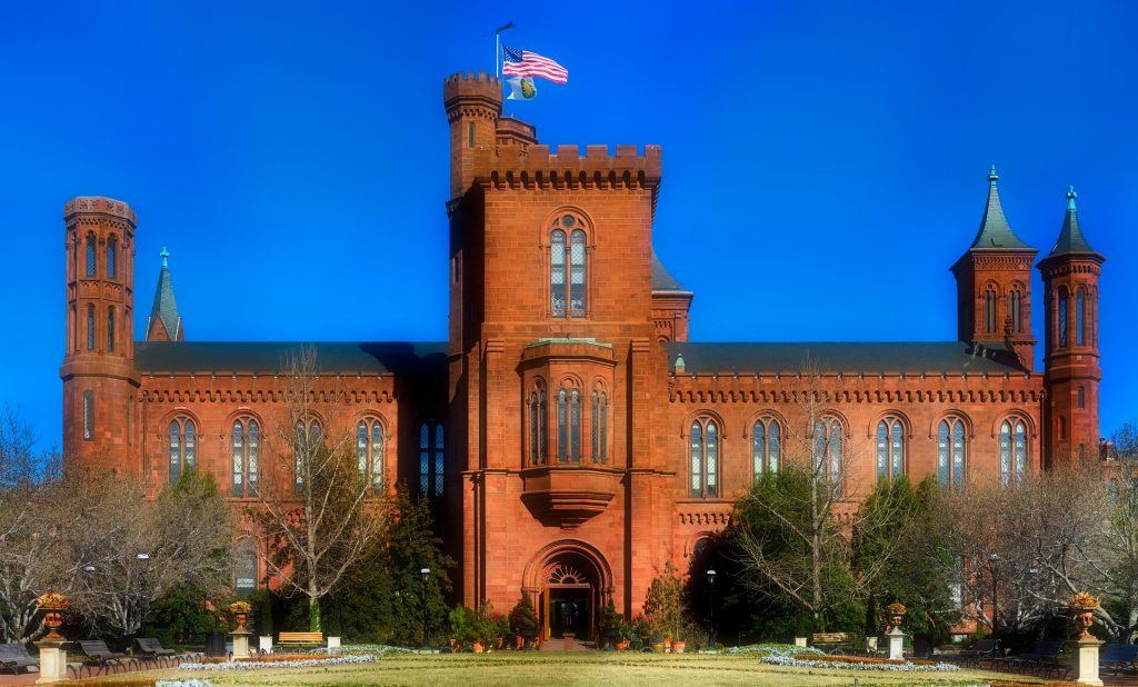 Photo of the Smithsonian Castle in Washington, D.C.