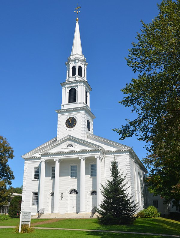 Photo of an old church in Williamstown, MA.