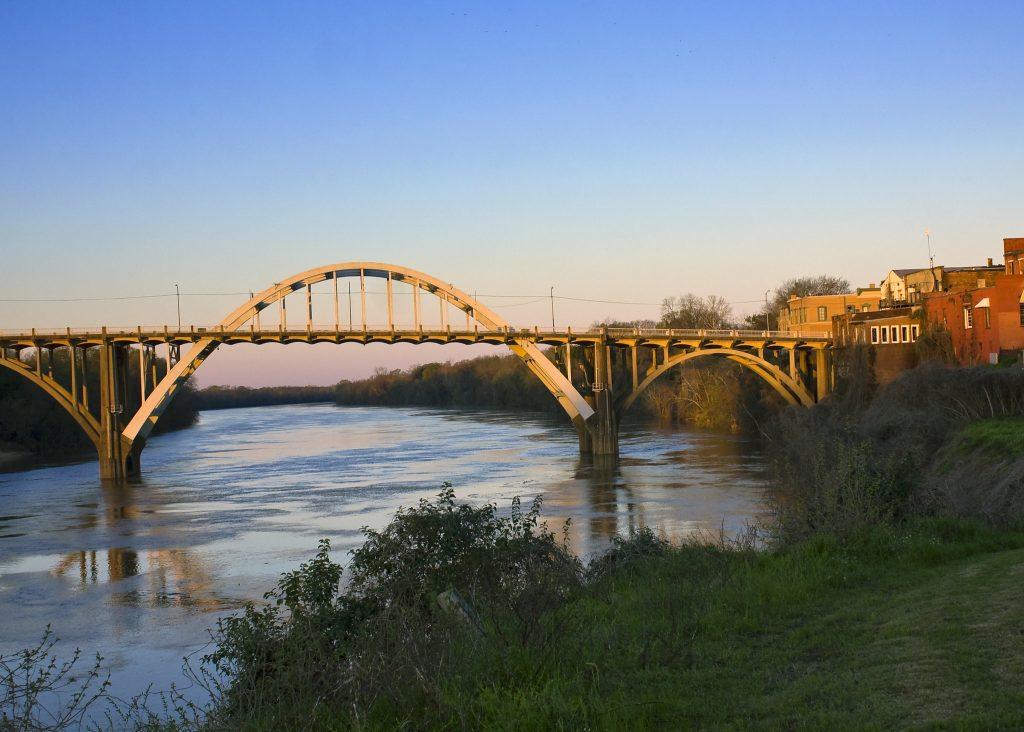 Photo of the Edmund Pettus Bridge in Selma.