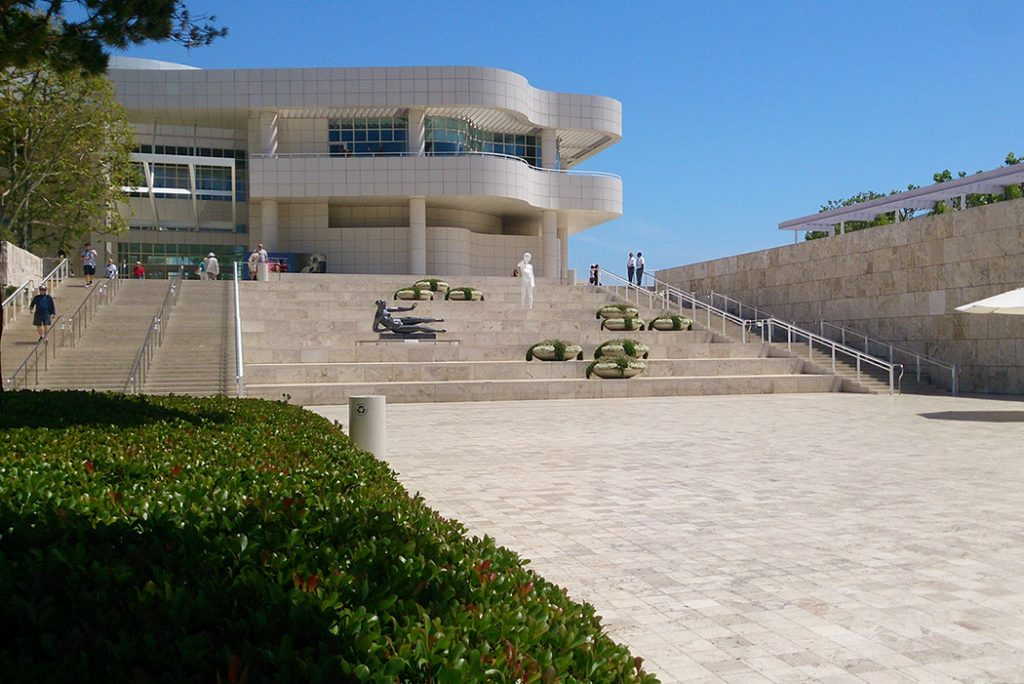 Photo of The Getty Center in Los Angeles, CA.