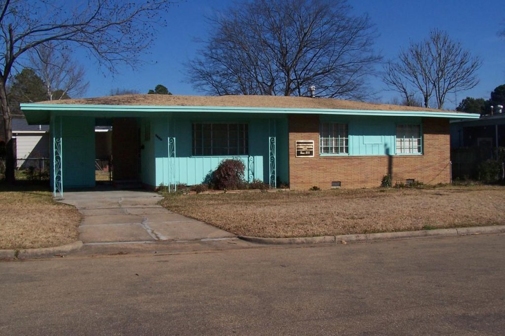 Photo of the Medgar Evers Home & Museum in Jackson.