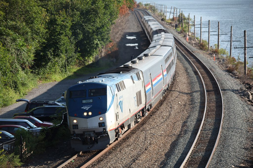Photo of Amtrak's Lake Shore Limited train.