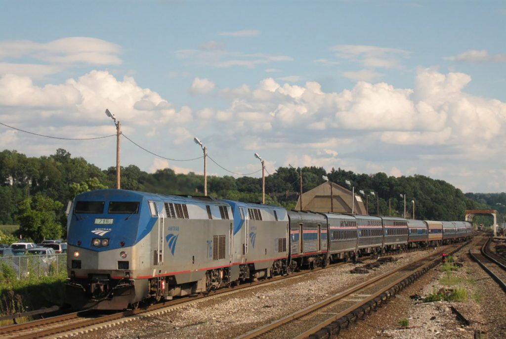 Photo of Amtrak's Lake Shore Limited.