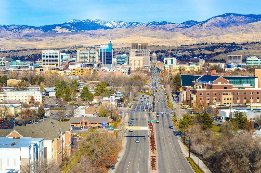 Photo of the Boise, Idaho, skyline.