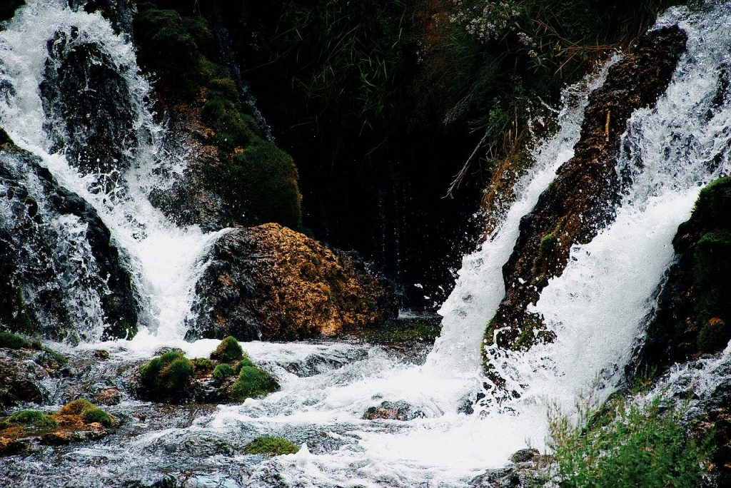 Waterfall near Spearfish, SD