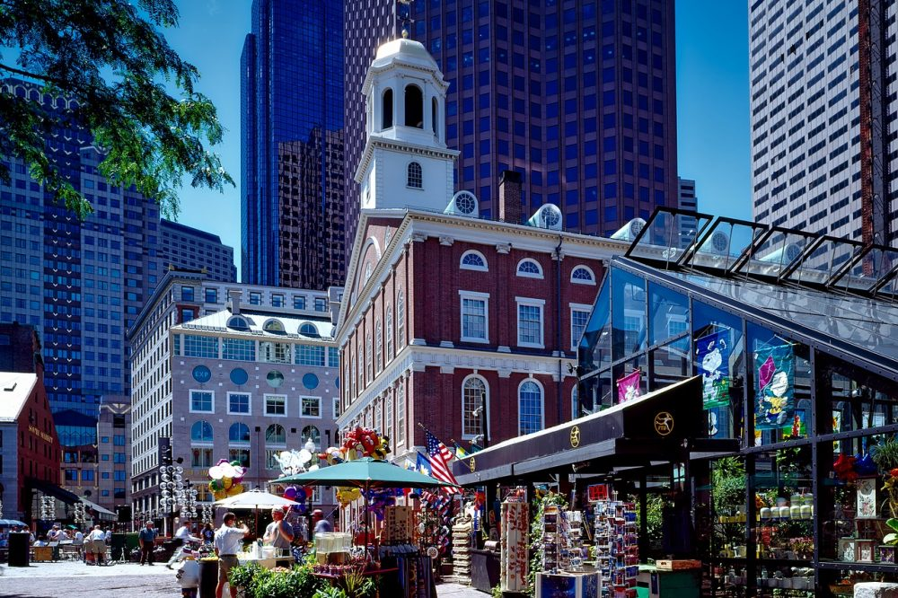 Cheap bus and train travel from Boston.