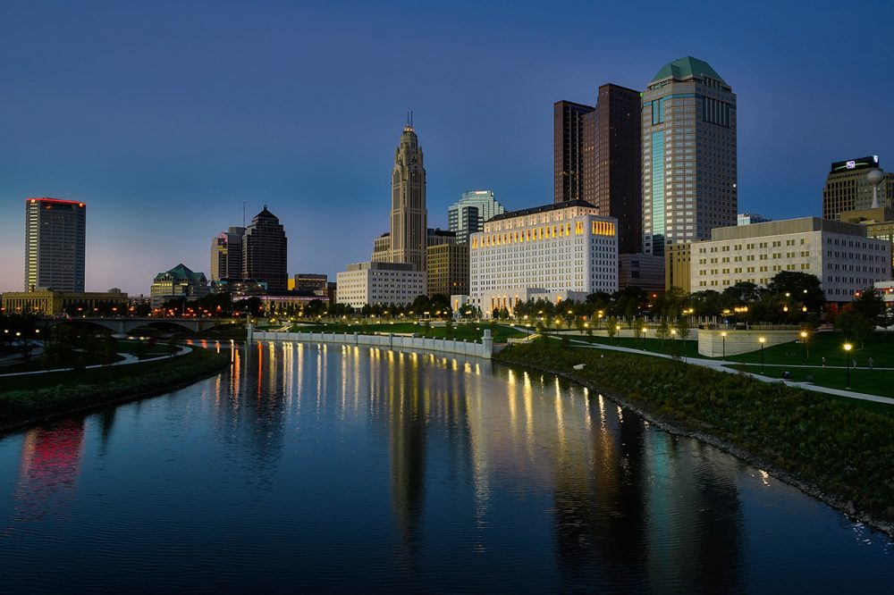 Cheap bus and train travel from Columbus.